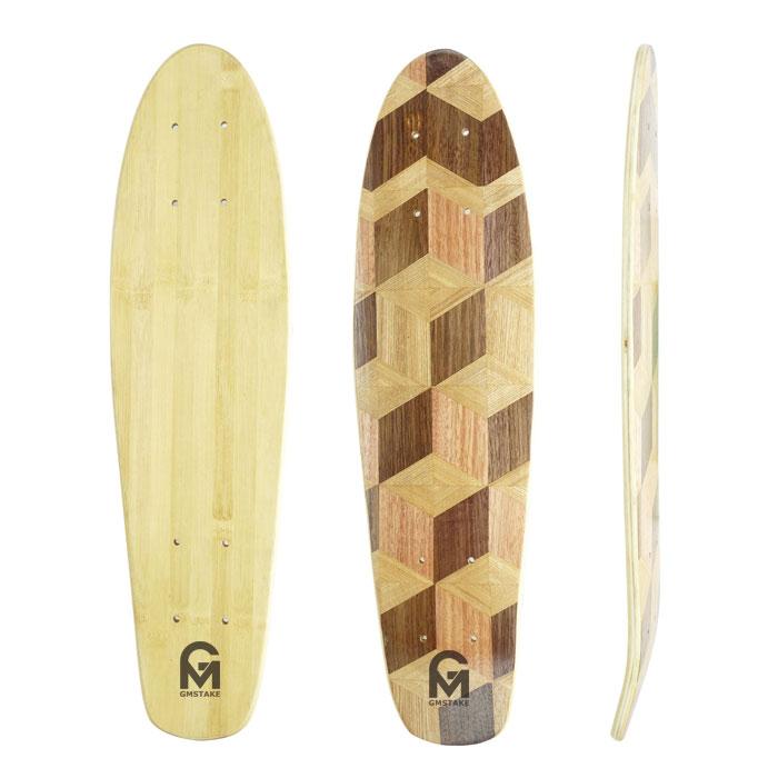 22.5x6mm bamboo maple cruiser skateboard