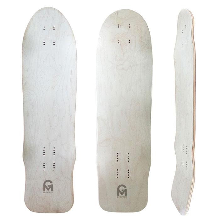 31.5x8.75mm 7ply canadian maple cruiser skateboard deck