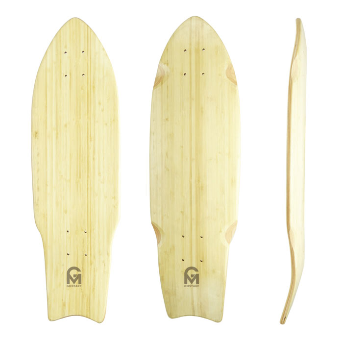 27x8 bamboo with 5ply maple cruiser skateboard deck