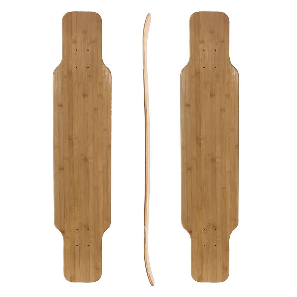 40x9.35 bamboo fiberglass freedom longboard deck