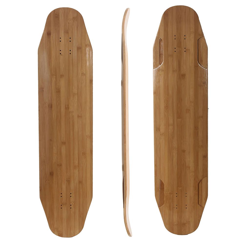 40x9.25 bamboo fiberglass freedom longboard deck