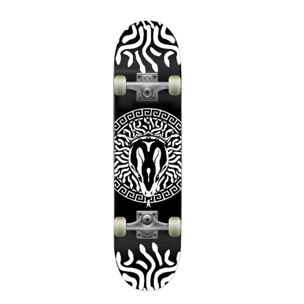 31.75x8.125inch snake canadian maple skateboard complete